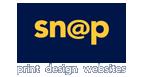 Snap Printing White Logo